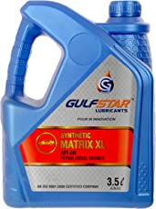 Gulfstar 5W-30 API SN Semi Synthetic Petrol Engine Oil for Cars (3.5 L)