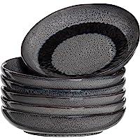 Leonardo 018562 Matera Lot de 6 assiettes creuses en céramique passent au lave-vaisselle avec glaçage, 6 assiettes…