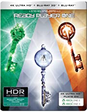 Ready Player One (Steelbook) (4K UHD + Blu-ray 3D + Blu-ray) (3-Disc)