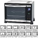ROMMELSBACHER Elektronik Back & Grill Ofen BGE 1580/E - 30 Liter Backraum, elektronische Regelung von 80-230 °C, Touch…
