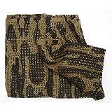 wildlifephotographyshop Camouflage scrim net. Large size 100cm x 198cm, Army military scarf netting