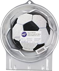 Wilton Backform Fußball, Stahl, Grau, 9.24 x 23.29 x 28.44 cm, 1 Einheiten