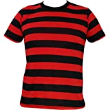 Rock Star Academy Black and Red Striped T-Shirt