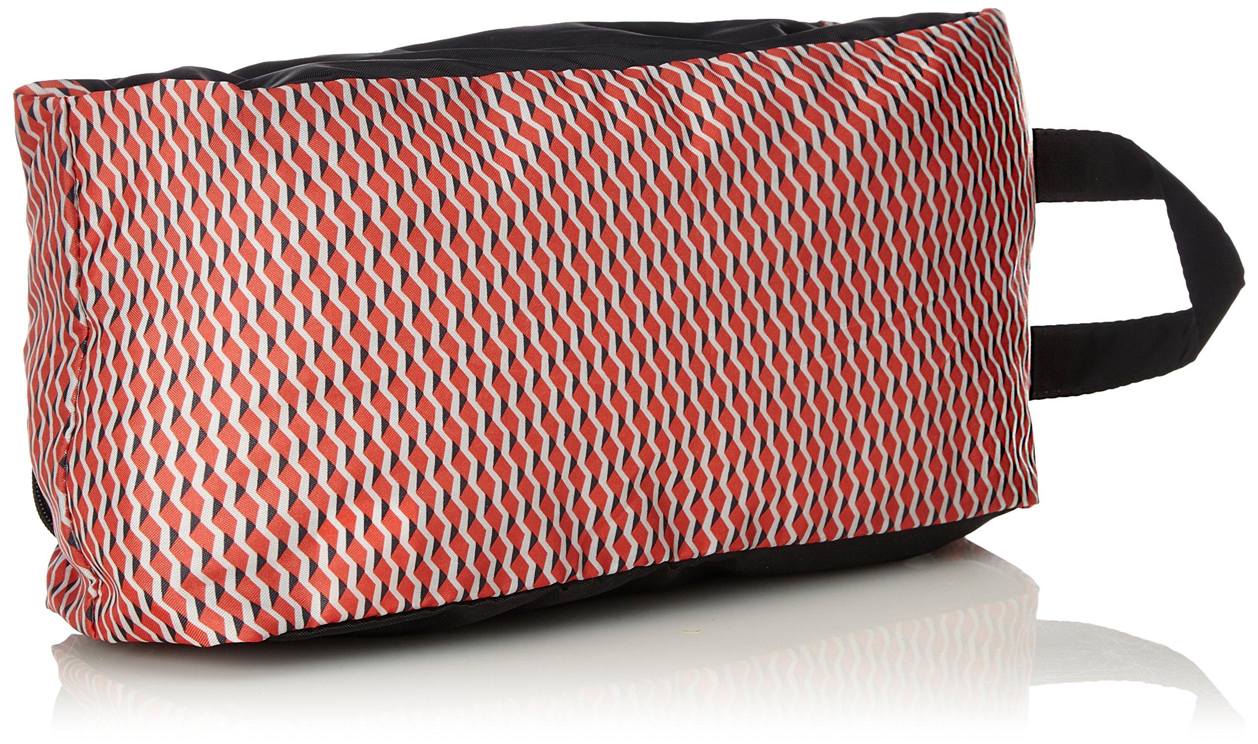 9155P8deynL - Kipling Wearable S Organizador para Maletas, 30 cm, 5 Liters, (Hybrid Geo Red)