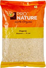 Pro Nature Organic White Basmati Rice, 1kg