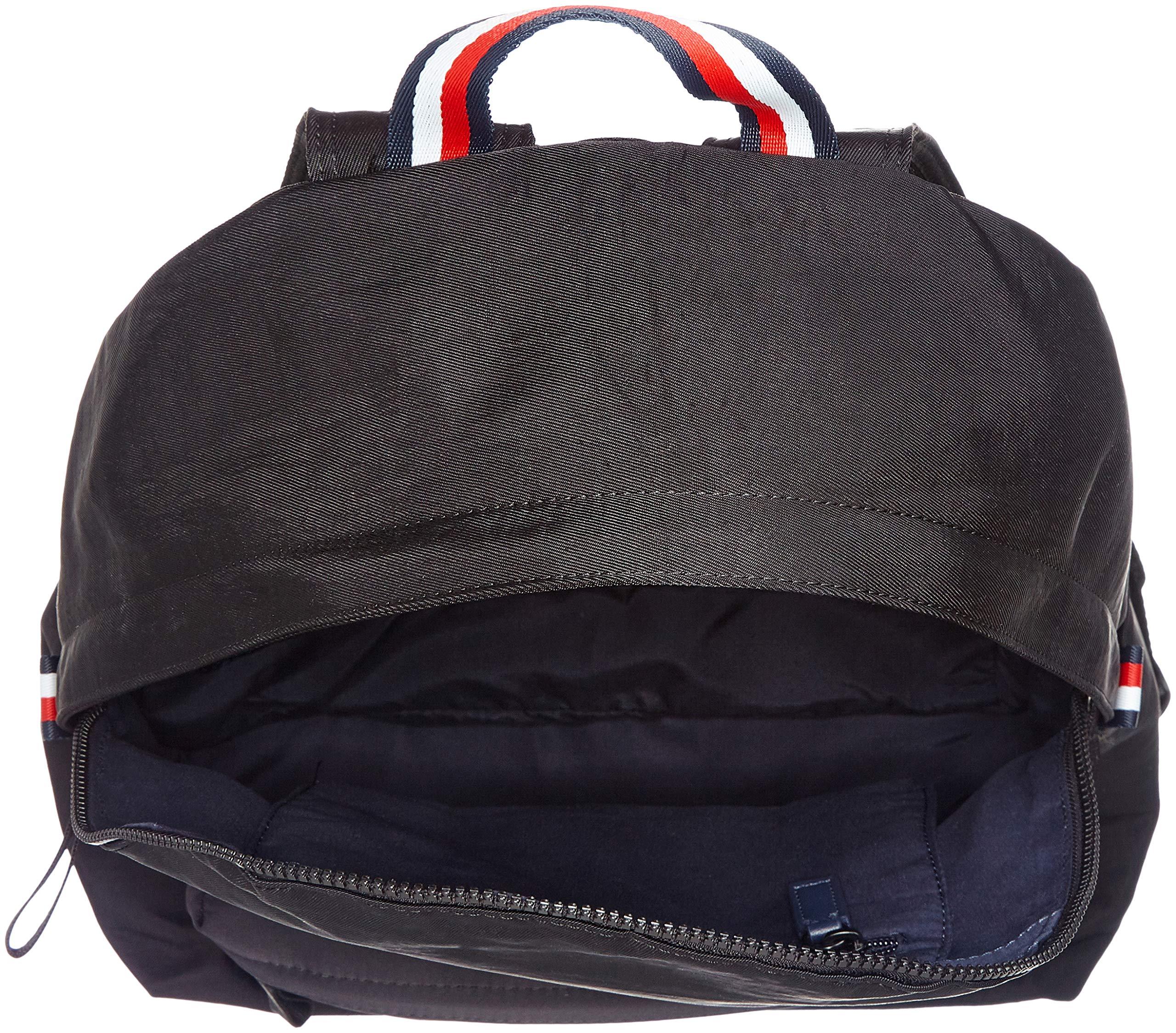 Tommy Hilfiger Utility Backpack Zaini Uomo, Nero (Black), 18x49x35 cm (B x H T)
