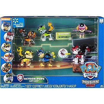 Paw Patrol - 6038448 - Pack de 6 Figurines d Action Mission - La Pat   Patrouille 8385bdfe6fa8