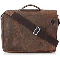 Strellson Richmond BriefBag L 4010001261 Herren Henkeltaschen 40x29x12 cm (B x H x T), Braun (dark brown 702)
