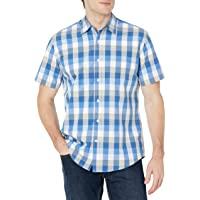 Amazon Essentials Uomo camicia in cotone a manica corta