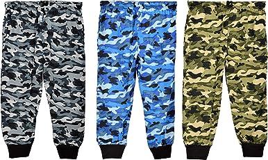 SOFTONE Boy's Army Kids Lower/Pyjama/ Full Pant (Combo of 3)