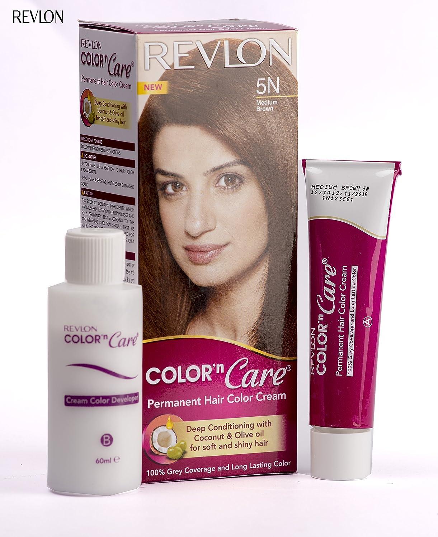 Buy Revlon Color N Care Permanent Hair Color Cream, Light Golden ...
