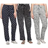 SHAUN Women's Regular Fit Track Pant (Pack of 3)