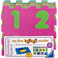Ravensburger- My First Play Puzzles Chiffres et Animaux Enfant, 4005556069859, Jaune