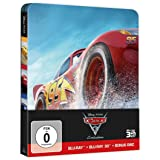Cars 3: Evolution Steelbook (3D BD+2D BD+Bonusdisc) [3 DVDs] [3D Blu-ray]