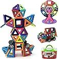 Magnetpro Bloques de construcción magnéticos Niños 108 Piezas Juguetes magnéticos, Juguetes educativos 3D, Regalo de cumpleañ