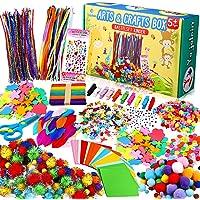 Yojoloin Activites Manuelles pour Enfants,1400+ Pièces Crafts Kits Loisirs Créatifs Bricolage,Matériel d'artisanat…