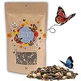 200g Semillas de pradera para mariposas para una colorida pradera de flores - mezcla de semillas de flores silvestres ricas e