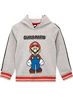 Sweatpants Boys Jogging Bottoms and Hoodies Top Girls Pullover and Trousers Mario Cosplay Clothing Mario Tracksuit 2 Pieces Sets Children Jogging Sportwear Kids Jogger Sweatshirt