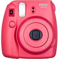 Fujifilm Instax Mini 8 Instant Camera (Raspberry)