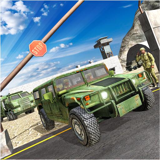 Armee-Fracht-Grenztransport -