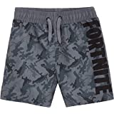 Fortnite Bañador Niño, Pantalones Cortos Niño con Estampado Camuflaje, Bermudas Niño para Playa Piscina, Bañadores Niño de Se
