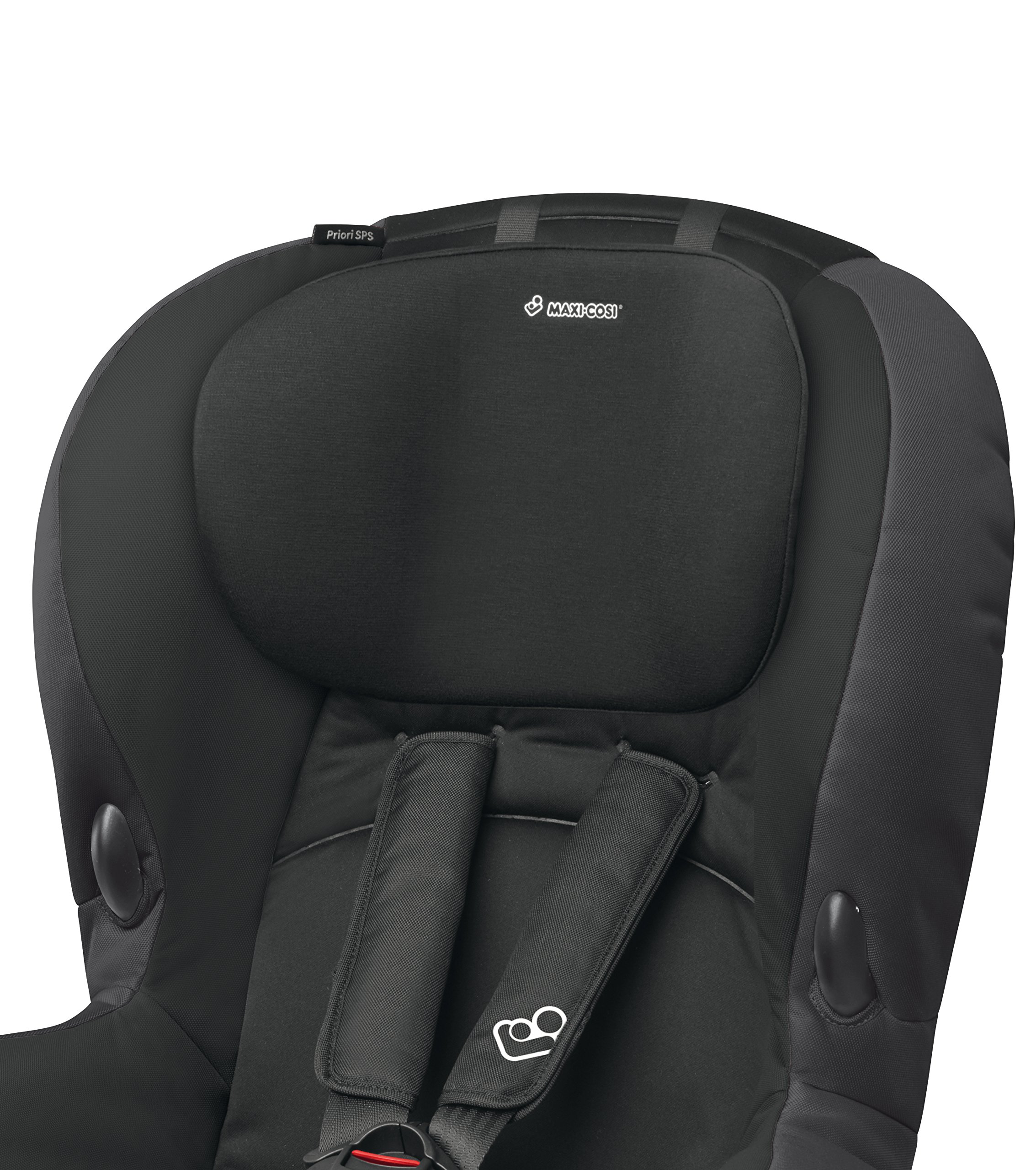 Maxi-Cosi Priori SPS Toddler Car Seat with Side Protection System, 9 Months - 4 Years, 9-18 kg, Slate Black Maxi-Cosi Forward facing group 1 car seat suitable for toddlers from 9 to 18 kg (approximately 9 months to 4 years old) Easy to install with regular 3-point safety belt Side protection system (offers optimal protection against side impact) 3