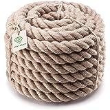 SFS Jute touw 6 mm - 40 mm touwen lijn touw touw touw natuurlijke hennep touw touw touw jute touw touw touw touw touw leuning
