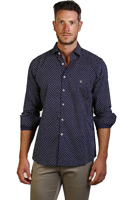 THE TIME OF BOCHA Camisa Hombre JI1PREMIUM-20 Talla XS: Amazon.es: Ropa y accesorios