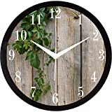 RAG28 Plastic Home/Living Room/Bedroom/Kitchen Designer Wall Clock (Woflow, 11.75 Inches)