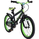 """BIKESTAR Bicicleta Infantil para niños y niñas a Partir de 5 años   Bici de montaña 18 Pulgadas con Frenos   18"""" Edición Moun"""