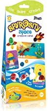 Quill On Spyrosity Space - Thrilling Theme Pack for Fun and Easy Quilling Activity Mini Sizing Board- for Boys and Girls (Multicolour)