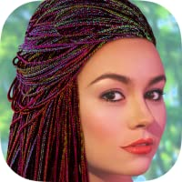 Hairstyles For Women - African Braids And Threads Hair Changer Pro