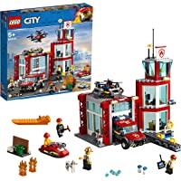 LEGO City Fire Station Building Blocks for Kids (509 Pcs)60215