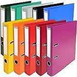 Exacompta - Réf. 53054E - Carton de 10 Classeurs à levier A4 Prem'Touch - Dos de 50 mm - Mécanique 55 mm- Dimensions extérieu