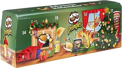 Handelshaus Huber-Koelle Pringles Chips-Adventskalender Modell Grün, 1er Pack (1 x 1.1 kg)