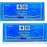 Selldorado® 2 x premium koude en warme kompressen van pure natuurlijke stof, grote koelpads voor warm / koud gebruik, koelkus