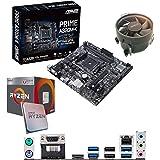 Components4All AMD Ryzen 3 2200G 3.5Ghz (Turbo 3.7Ghz) Quad Core CPU, ASUS Prime A320M-K Motherboard Pre-Built Bundle NO…