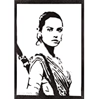 Poster Rey STAR WARS Handmade Graffiti Street Art - Artwork