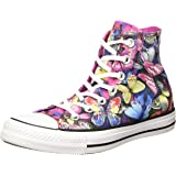 Converse - All Star Hi Butterfly, Sneaker Alte Donna