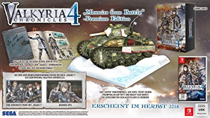 Valkyria Chronicles 4 - Memoires from Battle - Premium Edition (Switch)