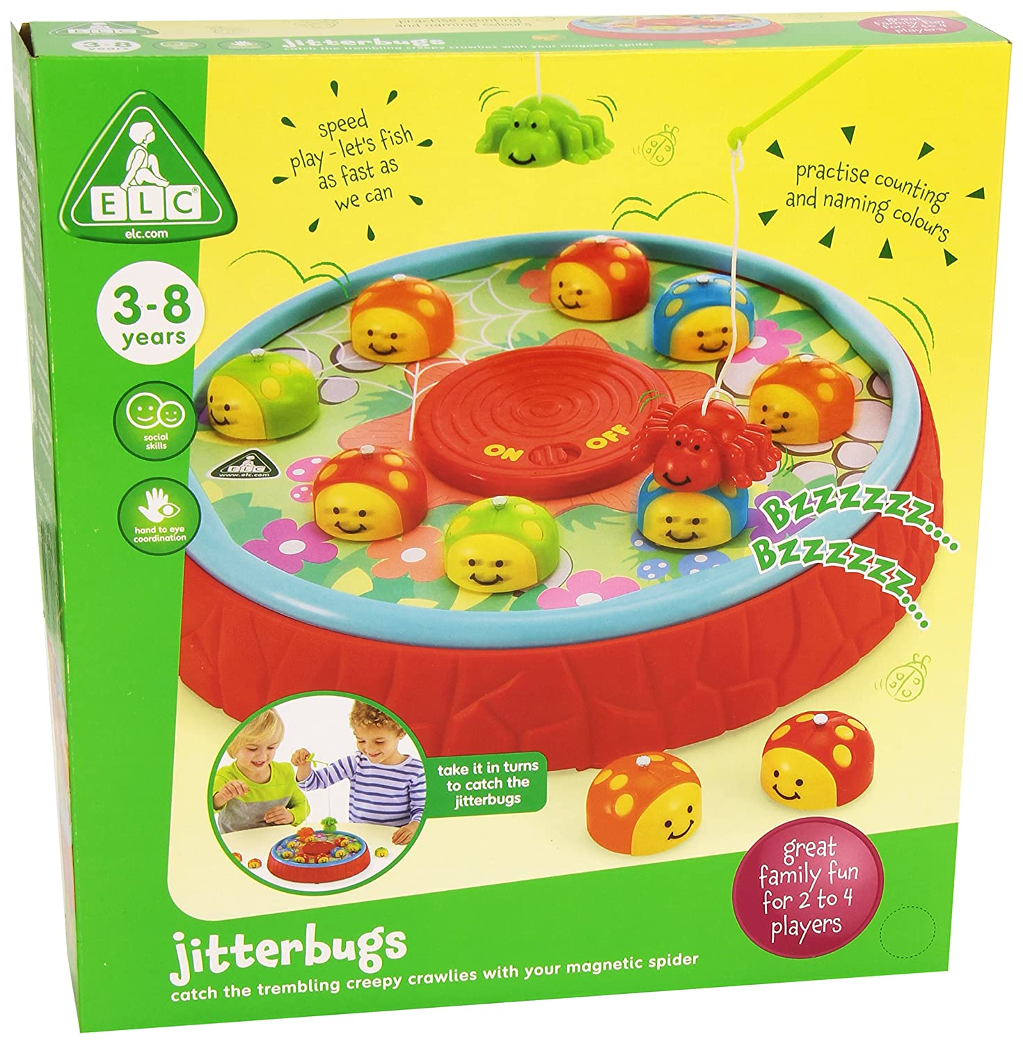 ELC Jitterbugs Game Amazon Toys & Games