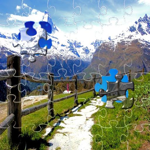 Dvd Media-cube (Jigsaw puzzles Mountain)