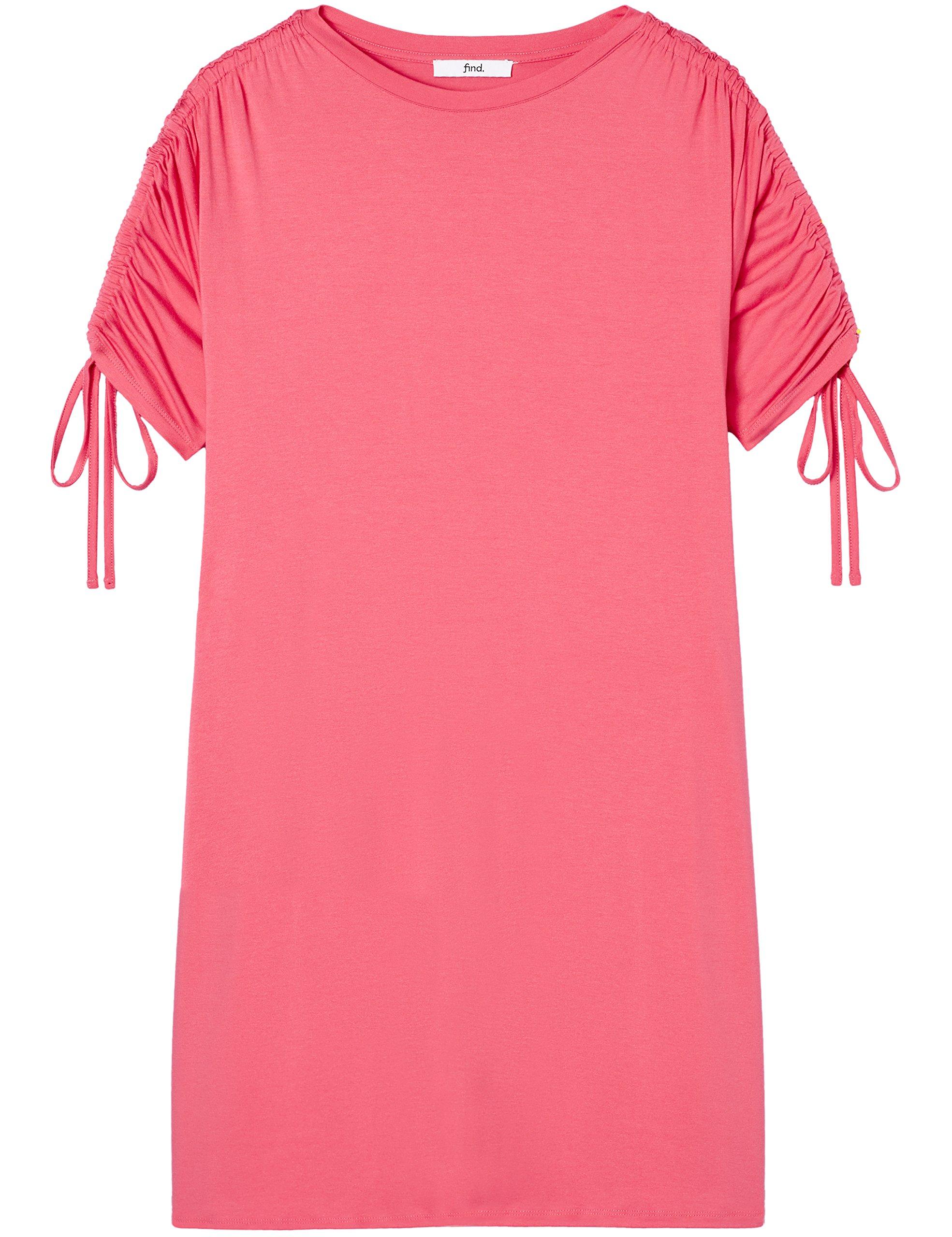 Marchio Amazon - find. Vestito Oversize con Manica Corta Donna 5 spesavip