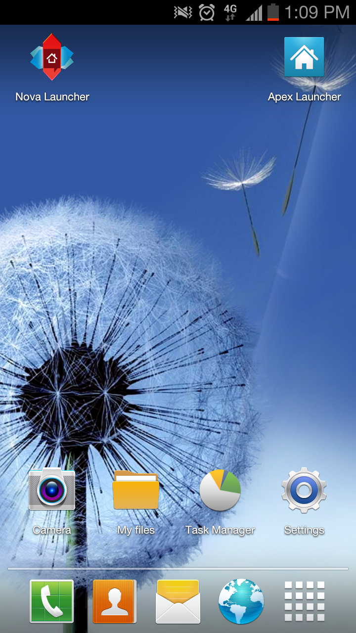 galaxy s3 launcher theme apps f r android. Black Bedroom Furniture Sets. Home Design Ideas
