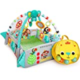 Bright Starts 5-in-1 Your Way Ball Play, Mat & Activity Gym with 35 Balls, 12 Toys and 20 Minutes of Lights and Music…
