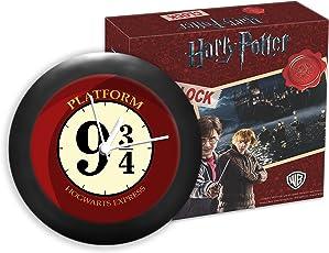 MC SID RAZZ Harry Potter- Hogwarts 9 3/4 Table Clocks Official Licensed by Warner Bros, USA