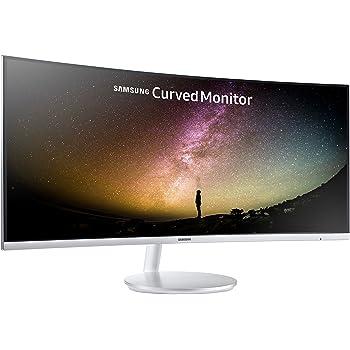 """Samsung LC34F791WQNXZA - Monitor curvo panorámico de 34"""" (formato 21:9, resolución UWQHD 3440 x 1440, 100 Hz, respuesta 4 ms, contraste 3.000:1, Quantum Dot Color, 2 altavoces de 7 W, Flicker Free)"""