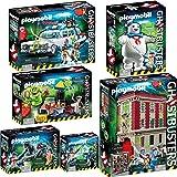 PLAYMOBIL 9219-20-21-22-23-24 Ghostbusters™ 6er-Komplett-Set