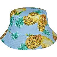 Damen Regenh/üte breite Krempe Packable Fisherman Bucket Hat Sonnenhut f/ür Frauen