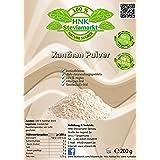 Xanthan Pulver 200g - Stabilisator, Verdickungsmittel - geschmacksneutral in Lebensmittelqualität für Soßen, Dressings, Kosme